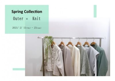 Spring Collection Outer×Knit